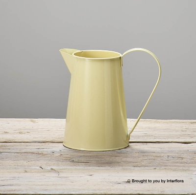 Cream Tin Jug