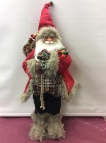 Tall Standing Red Father Christmas